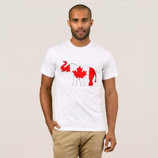 Elefante Canadá Camiseta