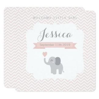 Elefante Chevron da menina do anúncio do
