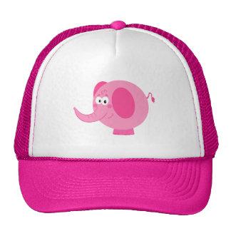 Elefante cor-de-rosa bonito bone