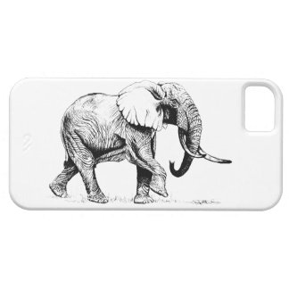 Elefante de Bull mim capa de telefone