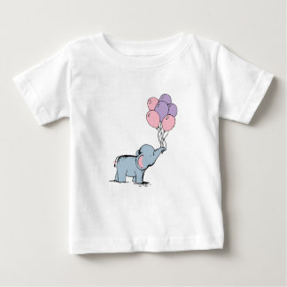 Elefante do bebê camiseta para bebê