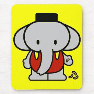 Elefante do bebê mouse pad
