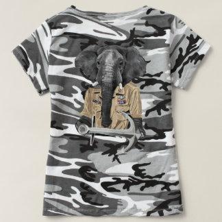 Elefante do marinho camiseta