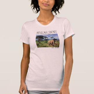 Elefante do Sketchley de Ladie Camiseta