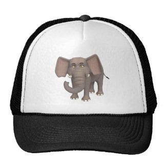 Elefante dos desenhos animados bonés