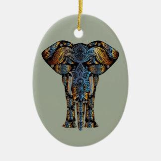 Elefante indiano ornamento de cerâmica