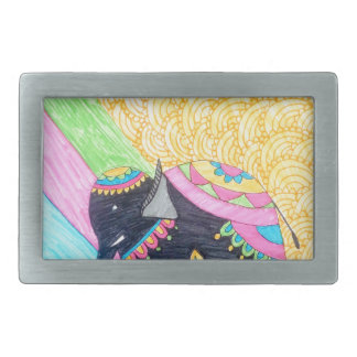 Elefante pequeno bonito colorido do madhubani