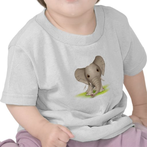 Elefante pequeno camisetas