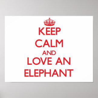 Elefante Impressão
