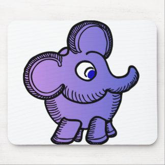Elefante roxo mousepad