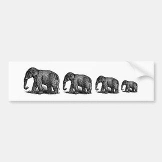 Elefantes Adesivo Para Carro