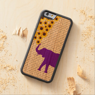 Elefantes, girassóis & Jane Eire Capa Cherry Bumper Para iPhone 6