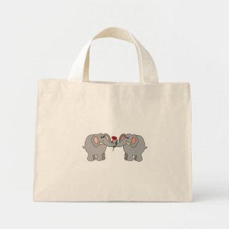 elefantes no amor bolsa de lona