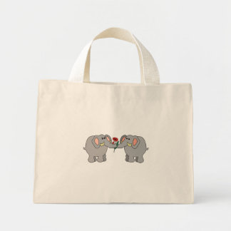 elefantes no amor sacola tote mini