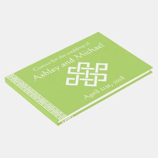 Elegância chinesa no livro de hóspedes do Peridot