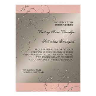 Elegância do traje de cerimónia convites do casam