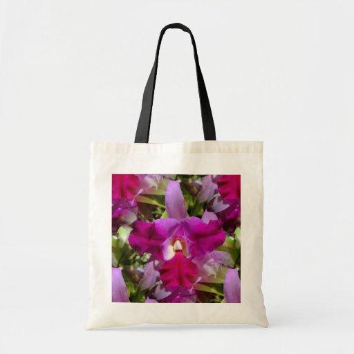 Elegância tropical da orquídea bolsa para compras