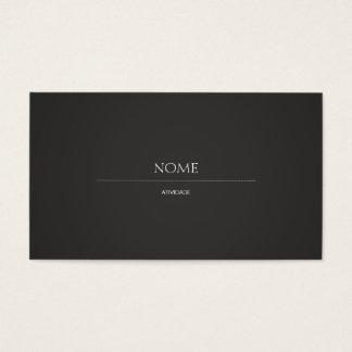 Elegante 2 cartão de visitas