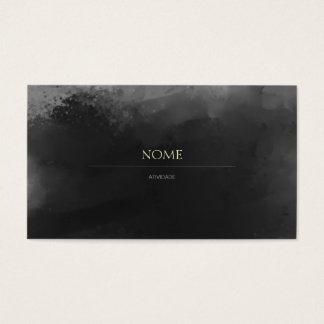 Elegante 3 Gray Cartão De Visitas