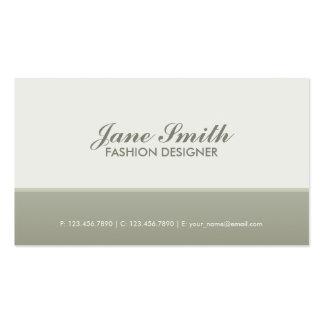 Elegante à moda profissional moderno elegante cartão de visita