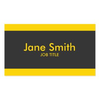 Elegante à moda profissional moderno simples liso cartão de visita