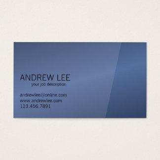 Elegante e profissional - cartões de visitas