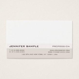 Elegante minimalista profissional moderno simples cartão de visitas