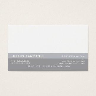 Elegante moderno simples minimalista profissional cartão de visitas