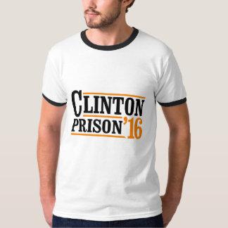 Eleição 2016 da prisão 2016 de Clinton - laranja - Camiseta