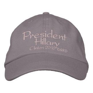 Eleição 2016 do presidente Hillary Clinton Bone