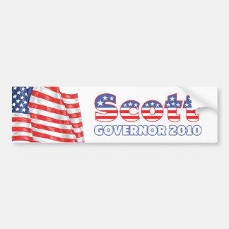 Eleições patrióticas da bandeira americana 2010 de adesivo