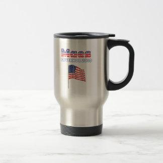 Eleições patrióticas da bandeira americana 2010 de canecas