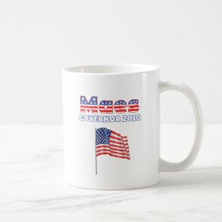Eleições patrióticas da bandeira americana 2010 de caneca