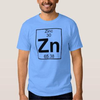 Elemento 030 - Zn - zinco (cheio) T-shirts