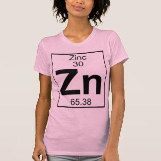 Elemento 030 - Zn - zinco (cheio) Tshirt