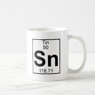 Elemento 050 - Sn - lata (cheio) Caneca De Café