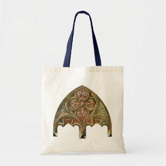 Elemento arquitectónico do vintage, arcos sacola tote budget
