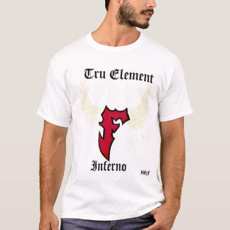 Elemento de Tru, inferno, IBF - personalizado Camiseta