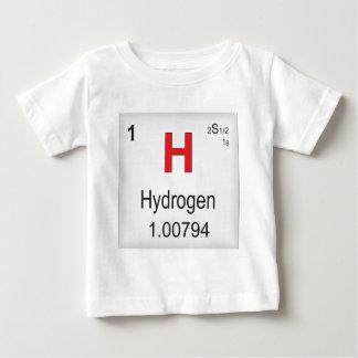 Elemento individual do hidrogênio da mesa t-shirt