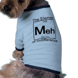 Elemento MEH Camisa Ringer Para Cachorro