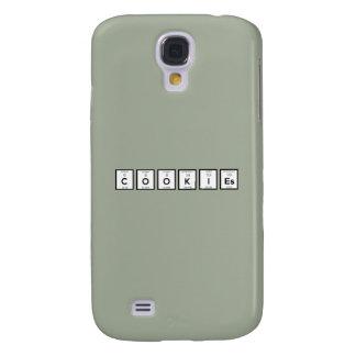 Elemento químico Z57c7 dos biscoitos Galaxy S4 Cases