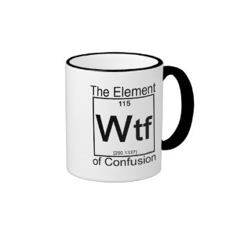 Elemento WTF Caneca