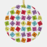 Elementos periódicos ornamentos