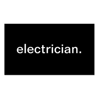 Eletricista Modelo Cartoes De Visitas
