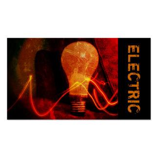 Eletricista, elétrico, cartão de indústria da cartões de visitas