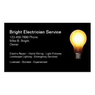 Eletricista profissional cartão de visita