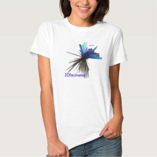 elétrico-azul, 3DDDude, 3Dfacinator T-shirts