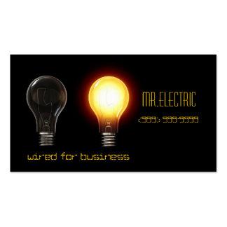 Elétrico cartão de visita do eletricista