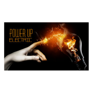 Elétrico eletricista cartão de visita da