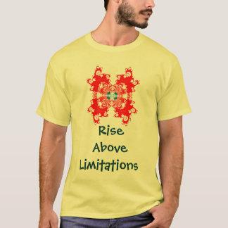 Elevação acima da camisa   das limitações